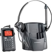 Plantronics 80057-01 Cordless Headset Telephone, Black