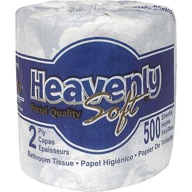 Heavenly Soft® Bath Tissue Rolls, 2-Ply, 96 Rolls/Case