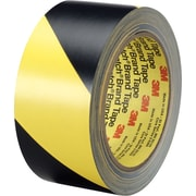 "3M Safety Stripe Tape, 3"" Core, Black/Yellow, 2"" x 36 yds., Each"