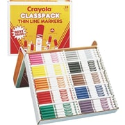 Crayola® Classpack® Fine Line Markers, 200/Box