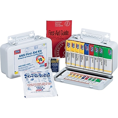 First Aid Only® ANSI-Compliant First Aid Kit for 10 People
