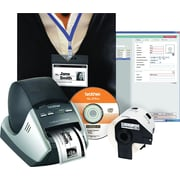 Brother® QL-570VM Visitor Badge and Management Kit
