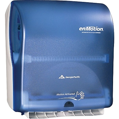 enMotion® Wall Mount Automated Touchless Towel Dispenser, Splash Blue