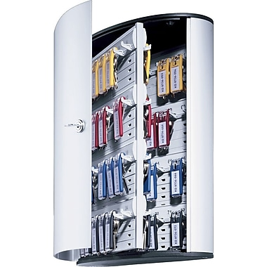 Durable Stylish Brushed Aluminum 54-Key Cabinet Systems