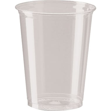 Dixie® Clear Plastic Cold Cups, 12 oz., 500/Case