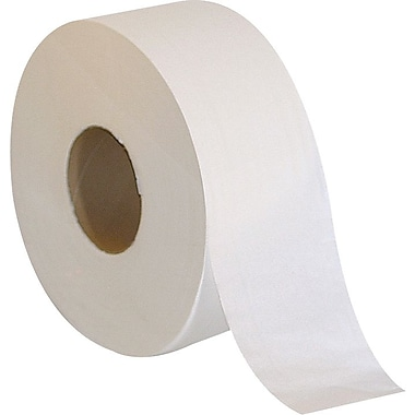 Sustainable Earth by Staples® Jumbo Roll Bath Tissue Rolls, 2-Ply, 6 Rolls/Case