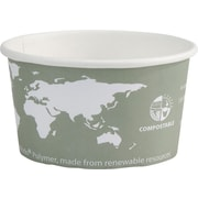 Vegetable Plastic Lining Soup Cup, Compostable, 12 oz., 500/Case