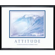 Attitude (Waves) Framed Motivational Print