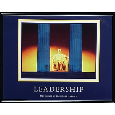 in.Leadershipin. Framed Motivational Print