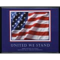 in.United We Standin. Framed Motivational Print