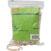 Staples® Economy Rubber Bands Size #54, Assorted, 1/4 lb.