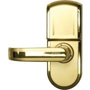 iTouchless Bio-Matic Fingerprint Door Lock Gold - Left Handle