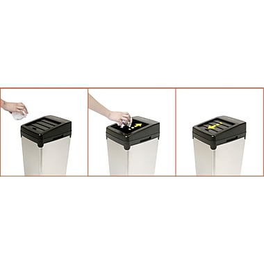 iTouchless Automatic Colored Steel Touchless Trash Cans® SX