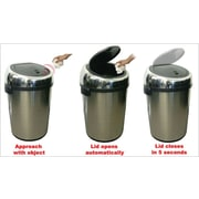 Fully Automatic Stainless Steel Touchless Trash Can® NX