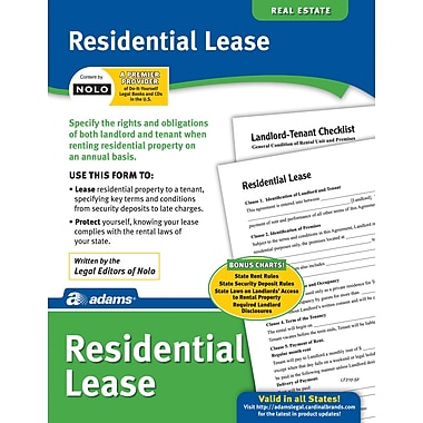 Adams® Residential Lease