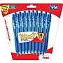 Pentel® WOW® Retractable Ballpoint Pens, Medium Point, Blue,