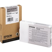 Epson 605 110ml Light Light Black UltraChrome Ink Cartridge (T605900)