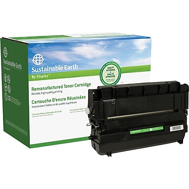 Sustainable Earth by Staples Remanufactured Black Toner Cartridge, Panasonic UG3313