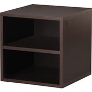 Foremost® Hold'ems Modular Cube Storage System, Espresso 15H x 15W x 15D Shelf Cube
