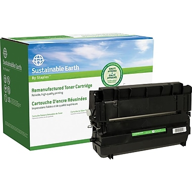 Sustainable Earth by Staples™ Reman Fax Toner Cartridge, Panasonic UG5520