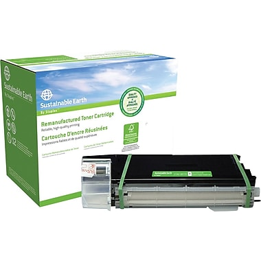 Sustainable Earth by Staples Remanufactured Black Toner Cartridge, Sharp AL-100TD (SEBAL100TDR)