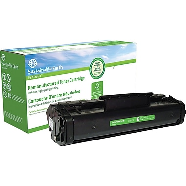 Sustainable Earth by Staples™ Reman Fax Toner Cartridge, Canon FX-3 (1557A002BA)