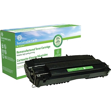 Sustainable Earth by Staples™ Reman Fax Toner Cartridge, Canon FX-4 (1558A002AA)