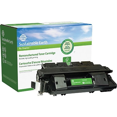 Sustainable Earth by Staples Remanufactured Black Toner Cartridge, Canon FX-6 (1559A002AA)