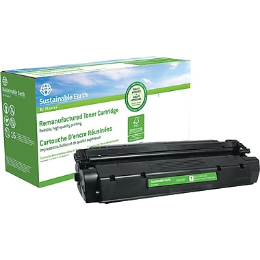 Staples™ Remanufactured Black Toner Cartridge, Canon FX-8 (8955A001A)