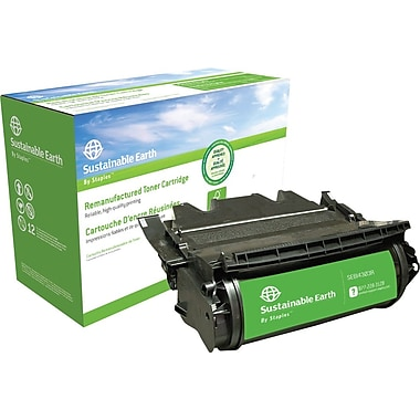 Staples™ Remanufactured Black Toner Cartridge, IBM InfoPrint 1332/1352/1372 (75P4301/75P4303)