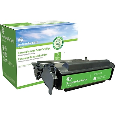 Staples™ Remanufactured Black Toner Cartridge, IBM InfoPrint 1122 (53P7707)