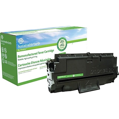 Sustainable Earth by Staples Reman Laser Toner Cartridge, Samsung ML-1210D3