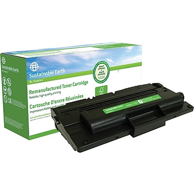 Sustainable Earth by Staples Reman Black Toner Cartridge, Samsung ML-1710D3 (SEBML1710R)