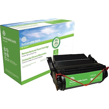 Sustainable Earth by Staples™ Reman Laser Toner Cartridge, Lexmark 1382625, 1382920,1382925,1382929
