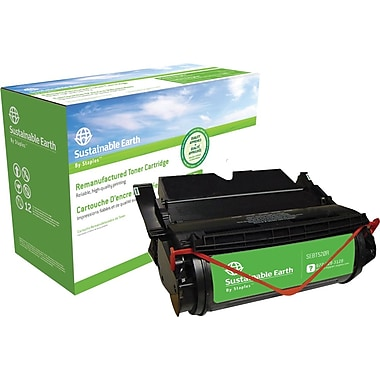 Sustainable Earth by Staples™ Reman Laser Toner Cartridge, Lexmark 12A6735, 12A6830, 12A6835