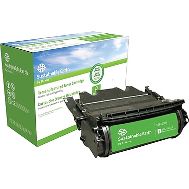 Sustainable Earth by Staples™ Reman Laser Toner Cartridge, Lexmark T630 (12A7362, 12A7460, 12A7462)