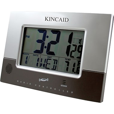 Kincaid® Wall Mounted Weather Station Clock