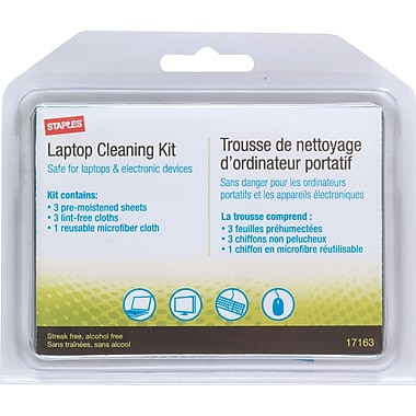 Staples® Laptop and LCD Cleaning Kit