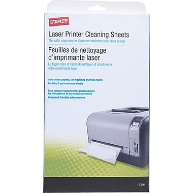 Staples Laser Printer Cleaning Kit