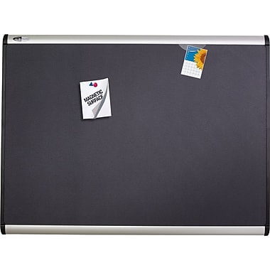 Quartet® Magnetic Fabric Bulletin Board, 48