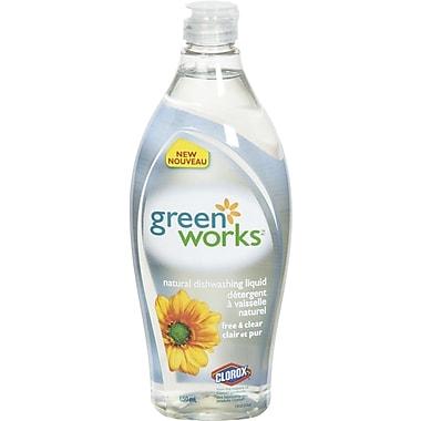 Green Works® Dishwashing Liquid, 650 mL, Free & Clear (CL01127)