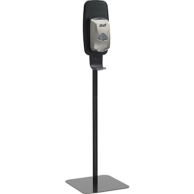 Purell® TFX Touch-Free Hand Sanitizer Floor Stand, Black