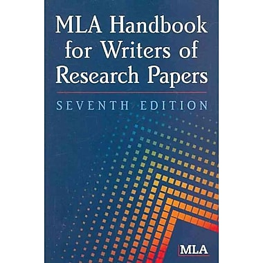MLA Handbook for Writers of Research Papers, Used Book