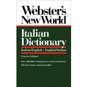 Webster's New World Italian Dictionary/Italian-English/English-Italian