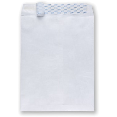 Staples® 12in. x 16in. Tyvek® QuickStrip™ Catalog Envelopes with 2in. Expansion, 100/Box