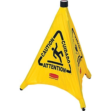 Rubbermaid® Pop-Up Safety Cone