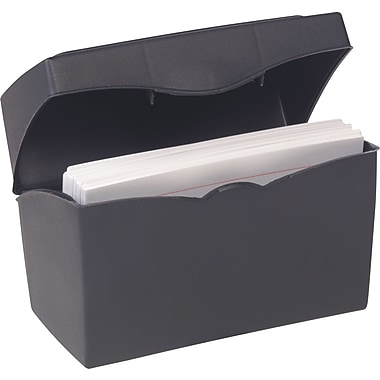 Staples® 3in. x 5in. Index Card File
