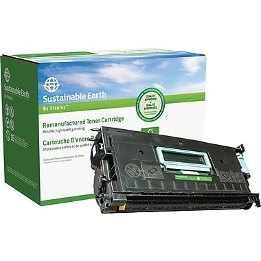 Sustainable Earth by Staples Remanufactured Black Toner Cartridge, Xerox 113R00173