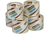 Scotch Sure Start Shipping Packing Tape, 1.88' x 900', Clear, 6/Pack