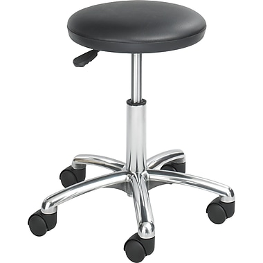 Safco® Anti-Microbial Labstool, Black